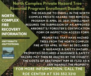 Private Hazard Tree Removal Deadline