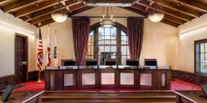 Colma Council Chambers Dias