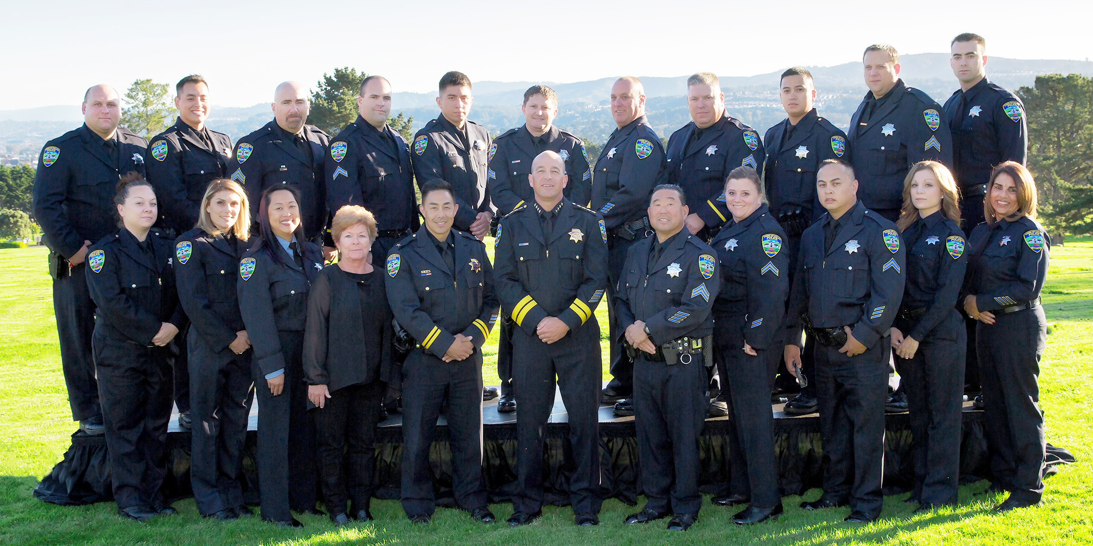 Colma Police Department Group Photo