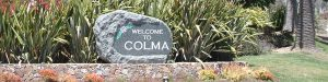 ColmaWelcomeSign