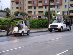 Colma Public Works Vehicles