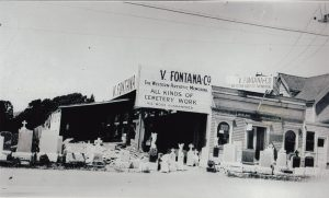 1923 V Fontana & Co - Original Office on F Street