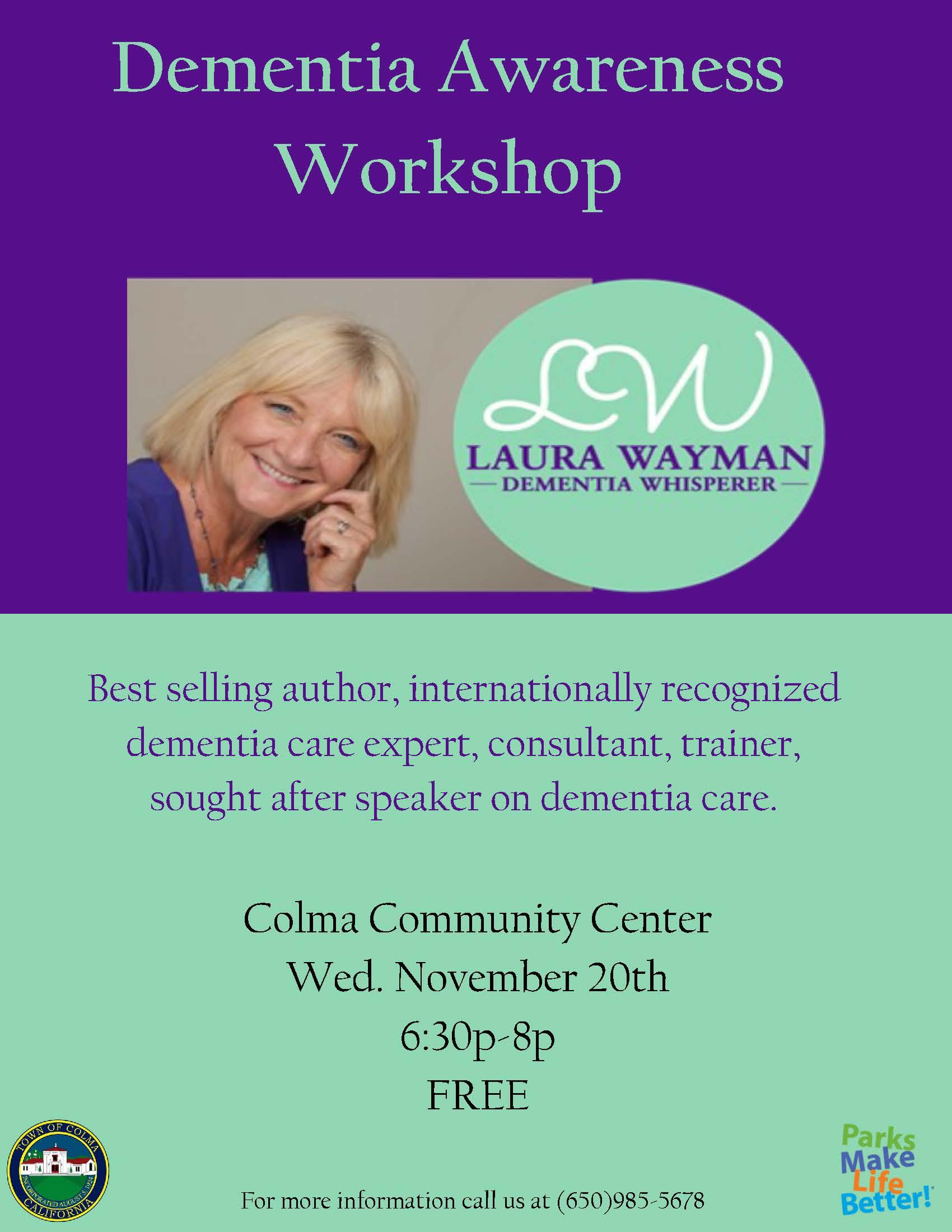 Dementia Awareness Flyer