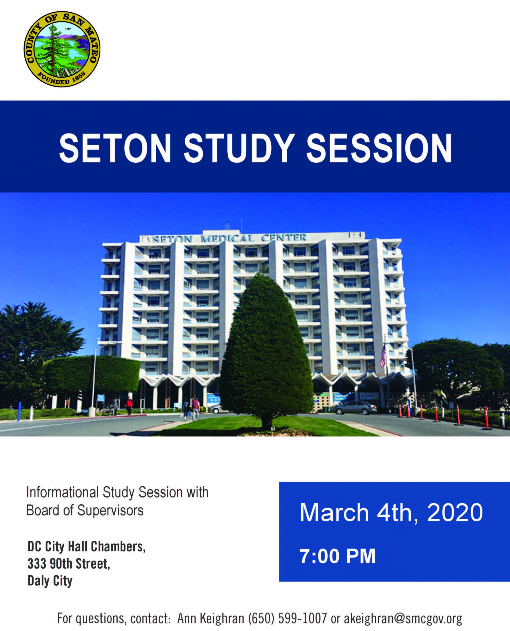 seton study session flyer