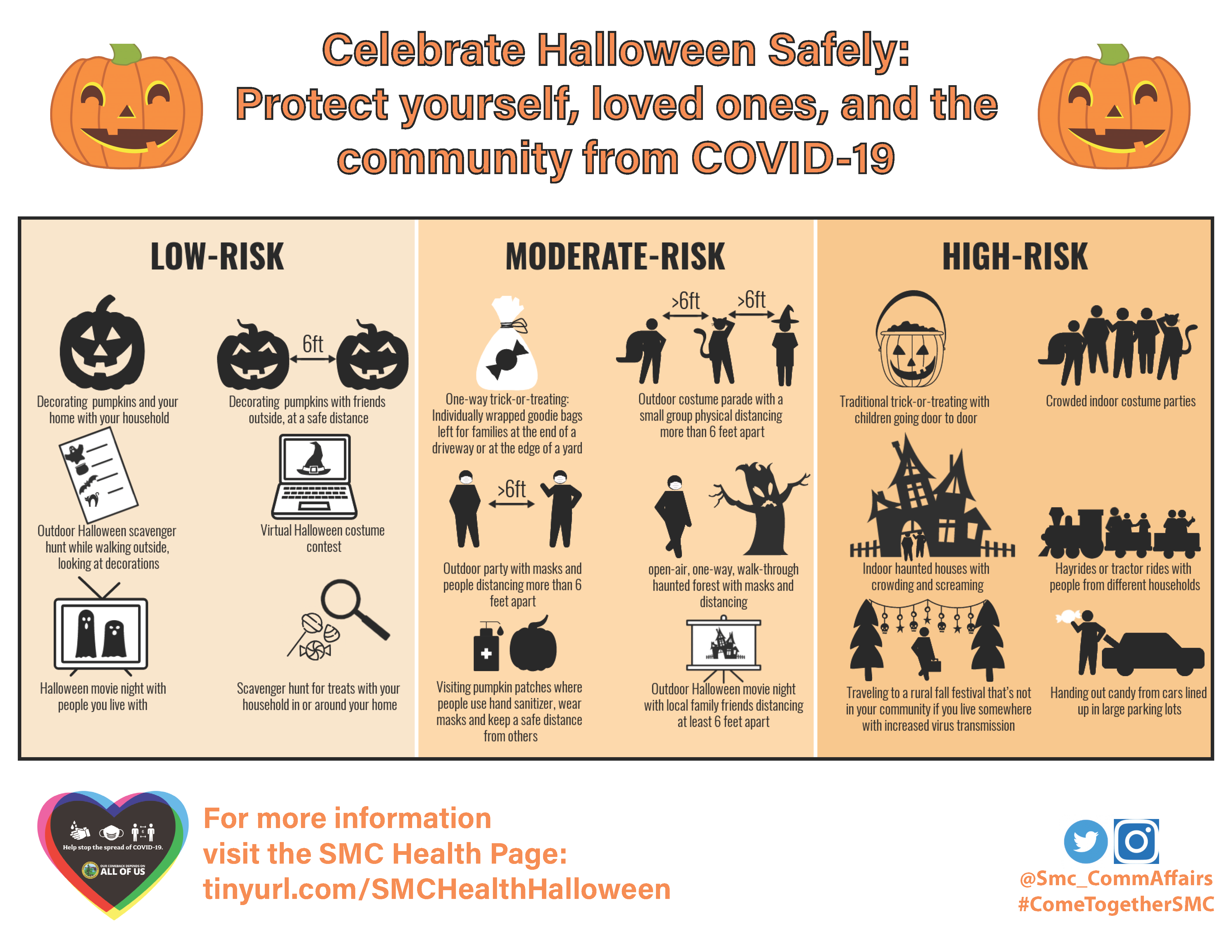Halloween low risk activities