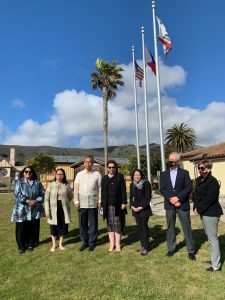 Colma City Council with Consul General Ferrer