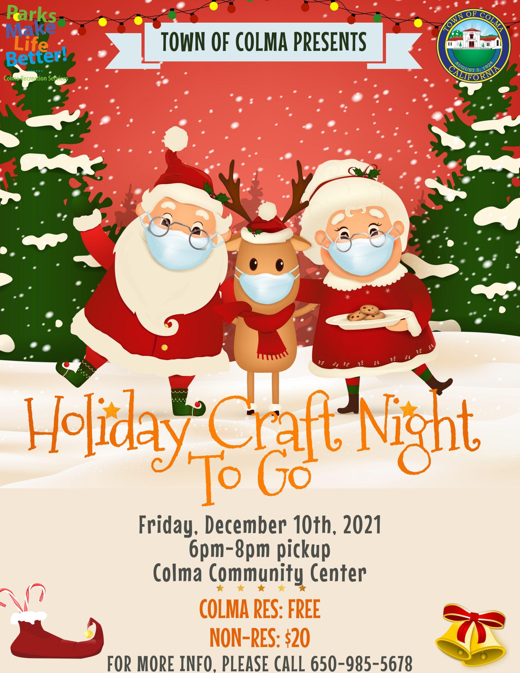 Craft Night Flyer
