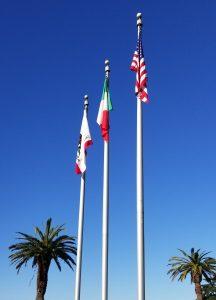 Italian Flag Raising