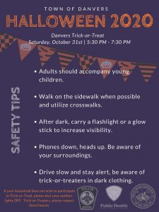 Halloween 2020 - Safety Tips