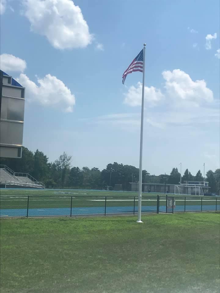 Flag at Morse Field, Dr Deering Stadium