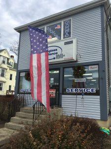 Flags Around Town, Douglass Appliance
