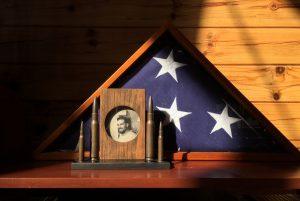 Flags Around Town, a WW II Veteran