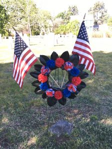 Flags Around Town, Porter's Cemetery
