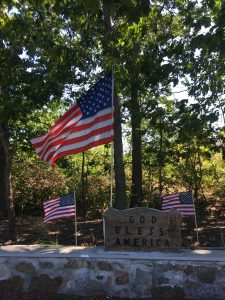 Flags Around Town, Rail Trail