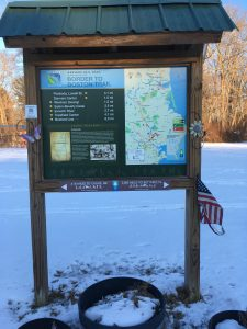 Flags Around Town, Rail Trail, Putnamville