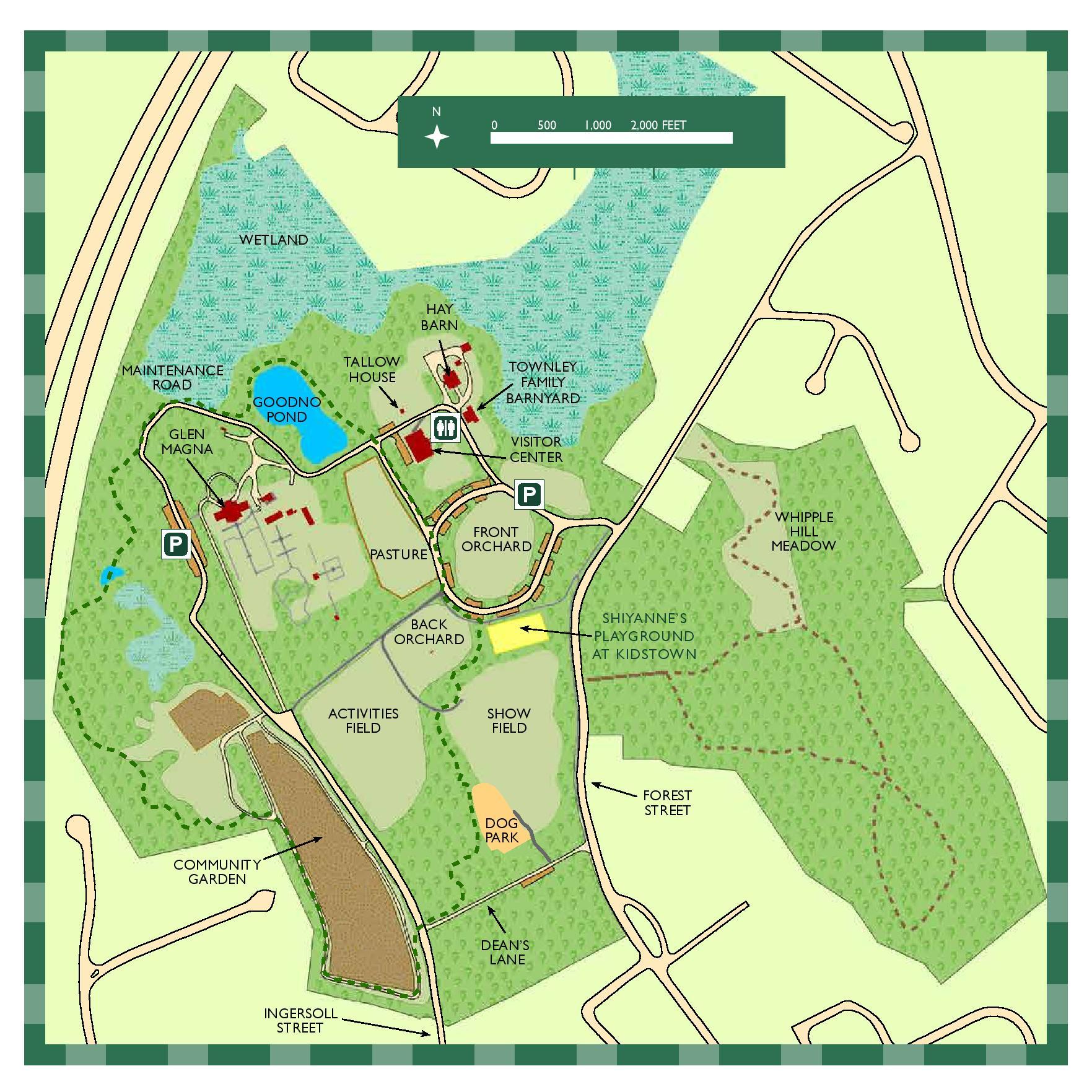 Endicott Park Map