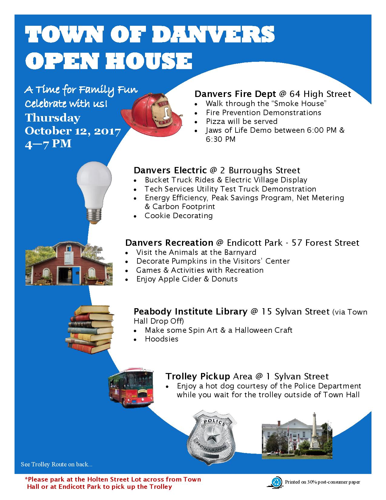 Town-Wide Open House