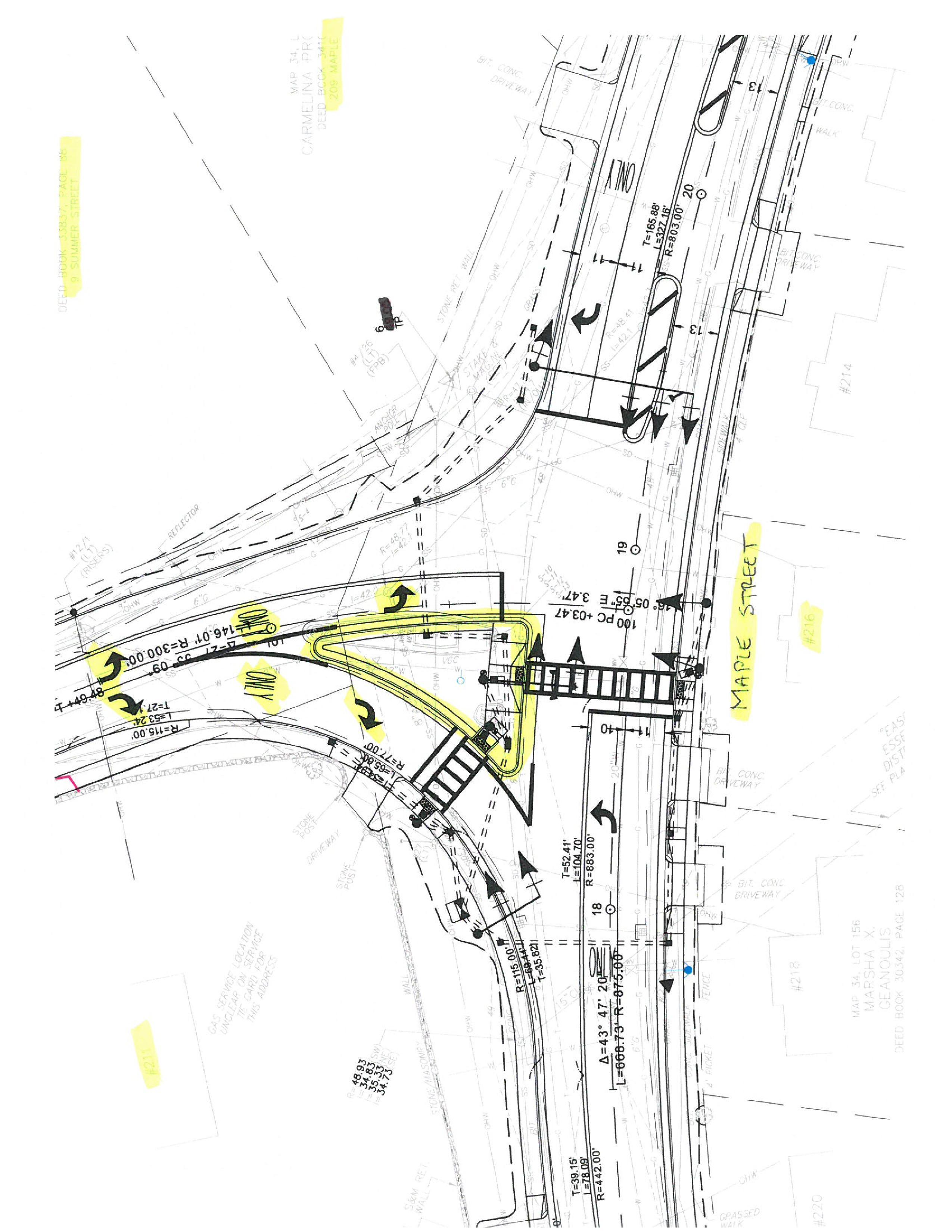 Traffic Island Sketch
