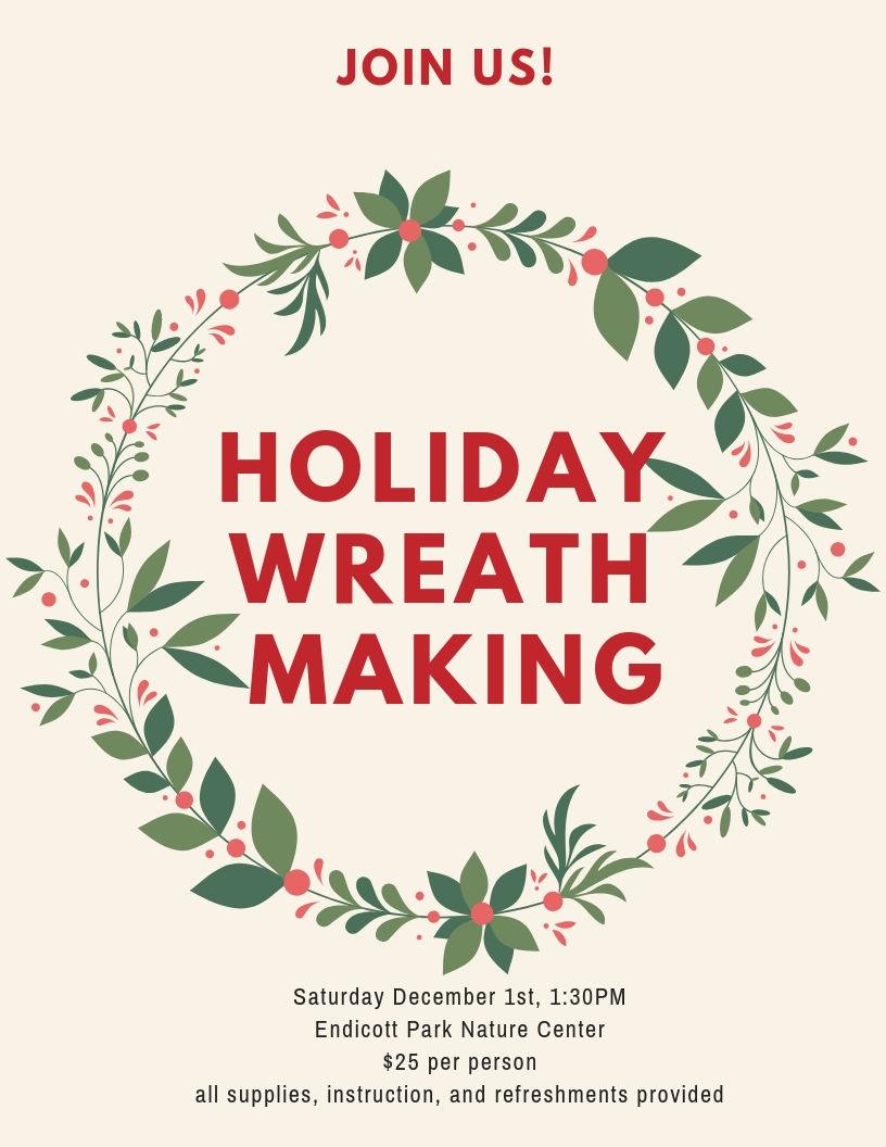 Wreath Making Flyer