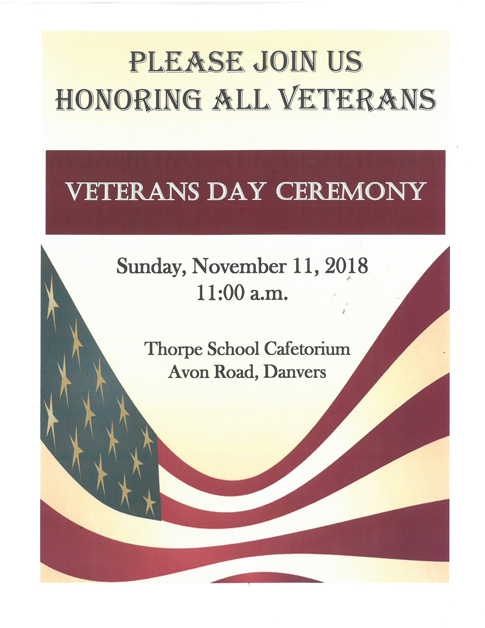 Veterans Day Flyer 11.11.2018