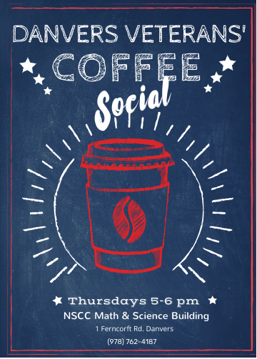 Weekly Veteran Coffee Social Ad