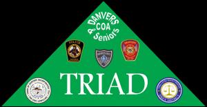 Green Triagle with Symbols
