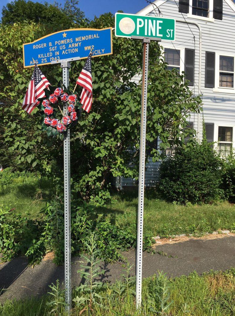Roger B. Powers Memorial Square