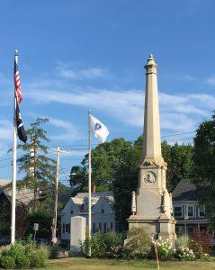 Town Hall Veterans' Memorials