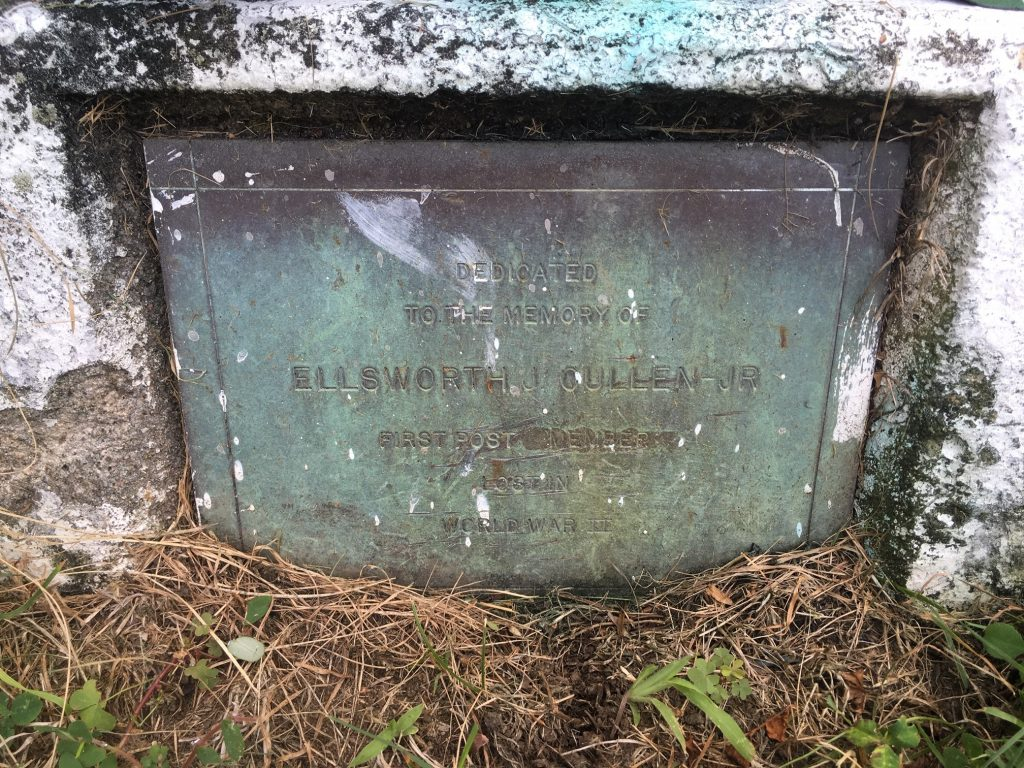 Ellsworth J. Cullen, Jr Memorial Marker