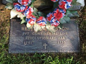 Reuben Keniston Grave Marker
