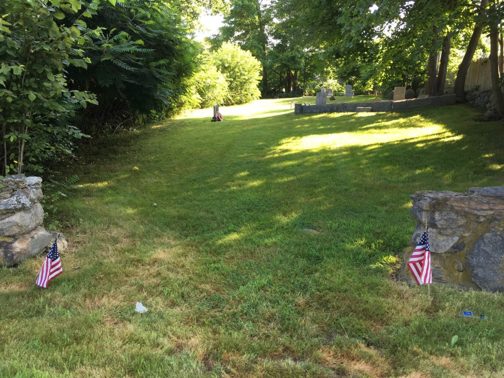 Unmarked Revolutionary War Cemetery