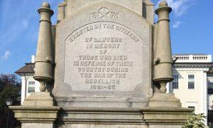 War of The Rebellion Memorial Dedication