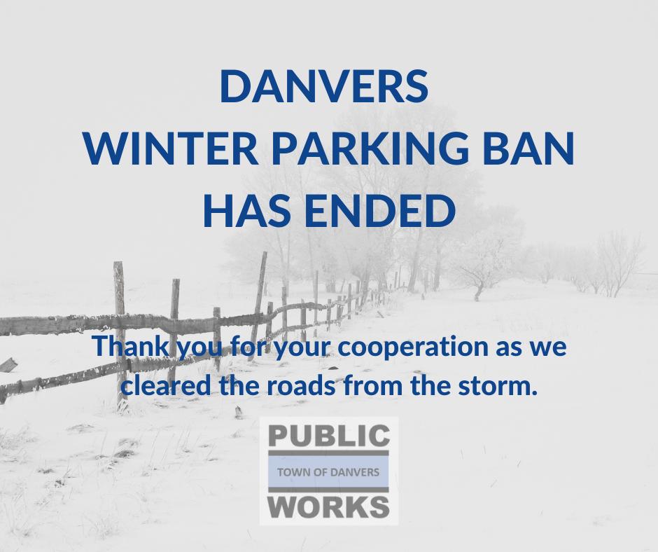 Parking Ban Ended