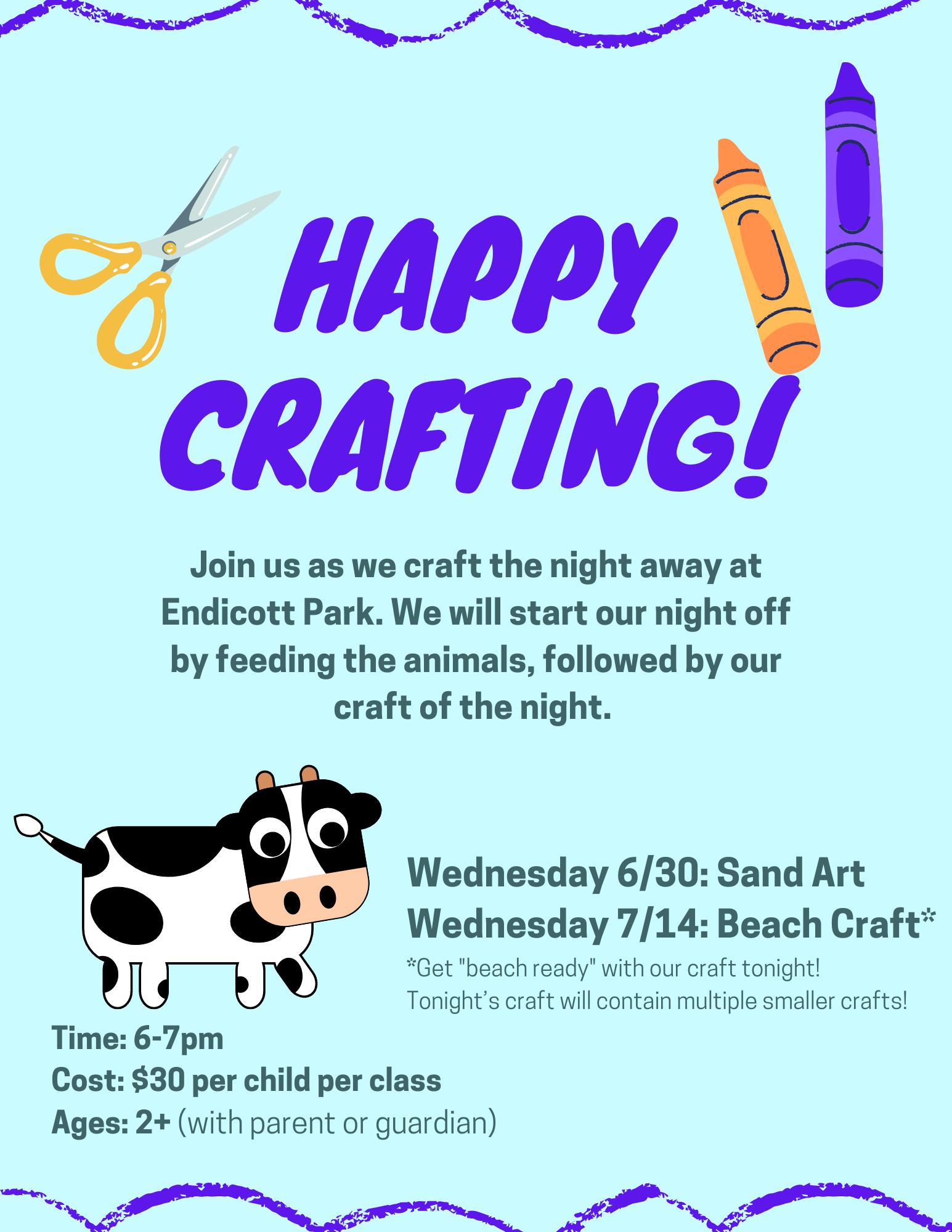 Happy Crafting Flyer