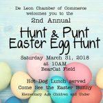 Easter Egg Hunt & Punt Flyer
