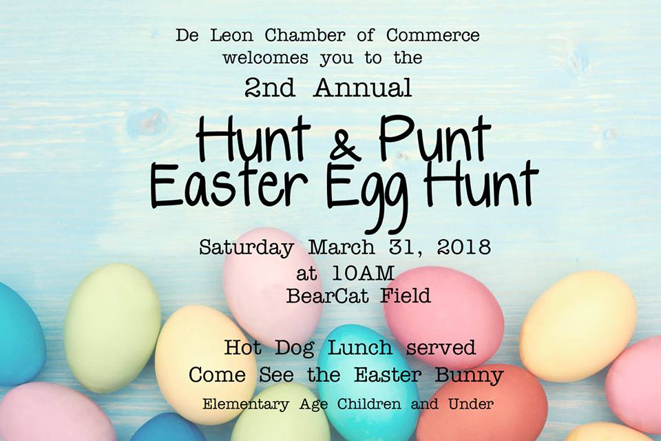 Easter Egg Hunt & Punt Flyer