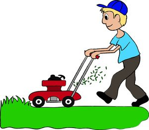 clip art illustration of a boy mowing the lawn de leon rh cityofdeleon org mowing clip art free images mowing clip art free