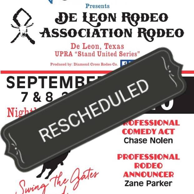 rodeo rescheduled