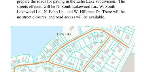 Echo Lake Update