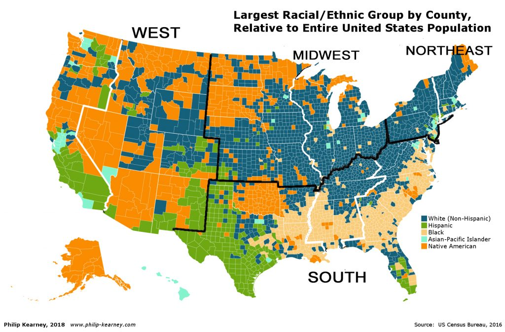 ETHNIC MAP USA