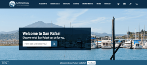 San Rafael BETA website
