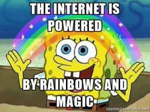 internet rainbows