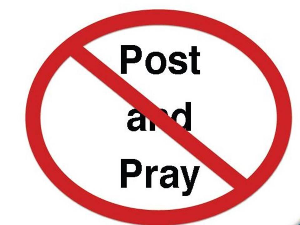 no post and pray
