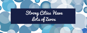 Strong Cities have lots of zeros