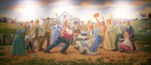 pawnee mural