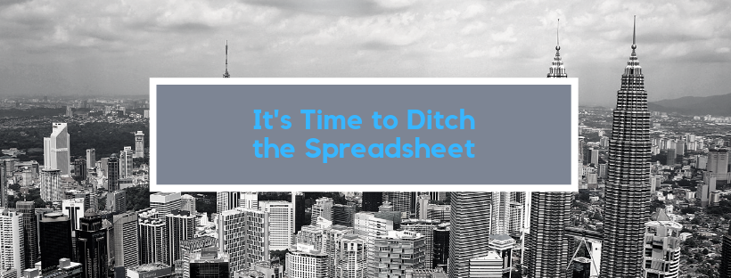 Ditch the spreadsheet