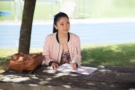 a scene from the movie To All the Boys I've Loved Before