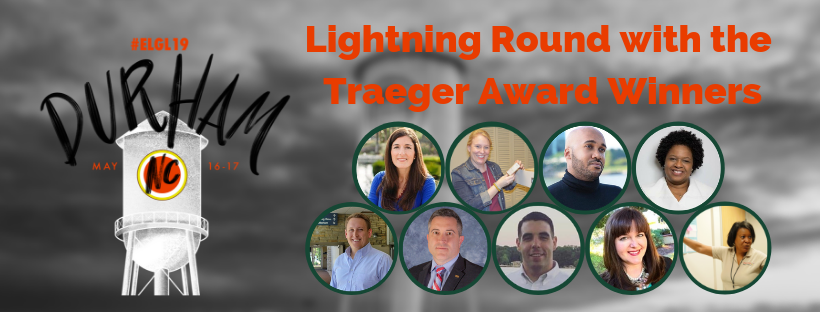 lightning round with traeger award winners