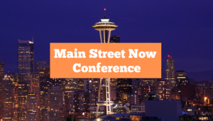 Main Street Now Conference