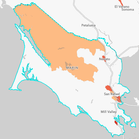Marin County Hard-to-Count Map